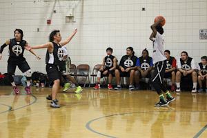 winning Basketball team